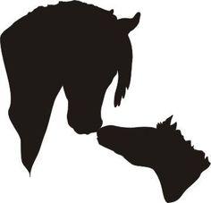 236x227 Black Horse Head Silhouette Clipart