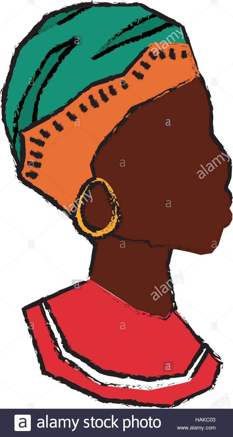 741x1390 African Woman Silhouette Icon Vector Illustration Graphic Design