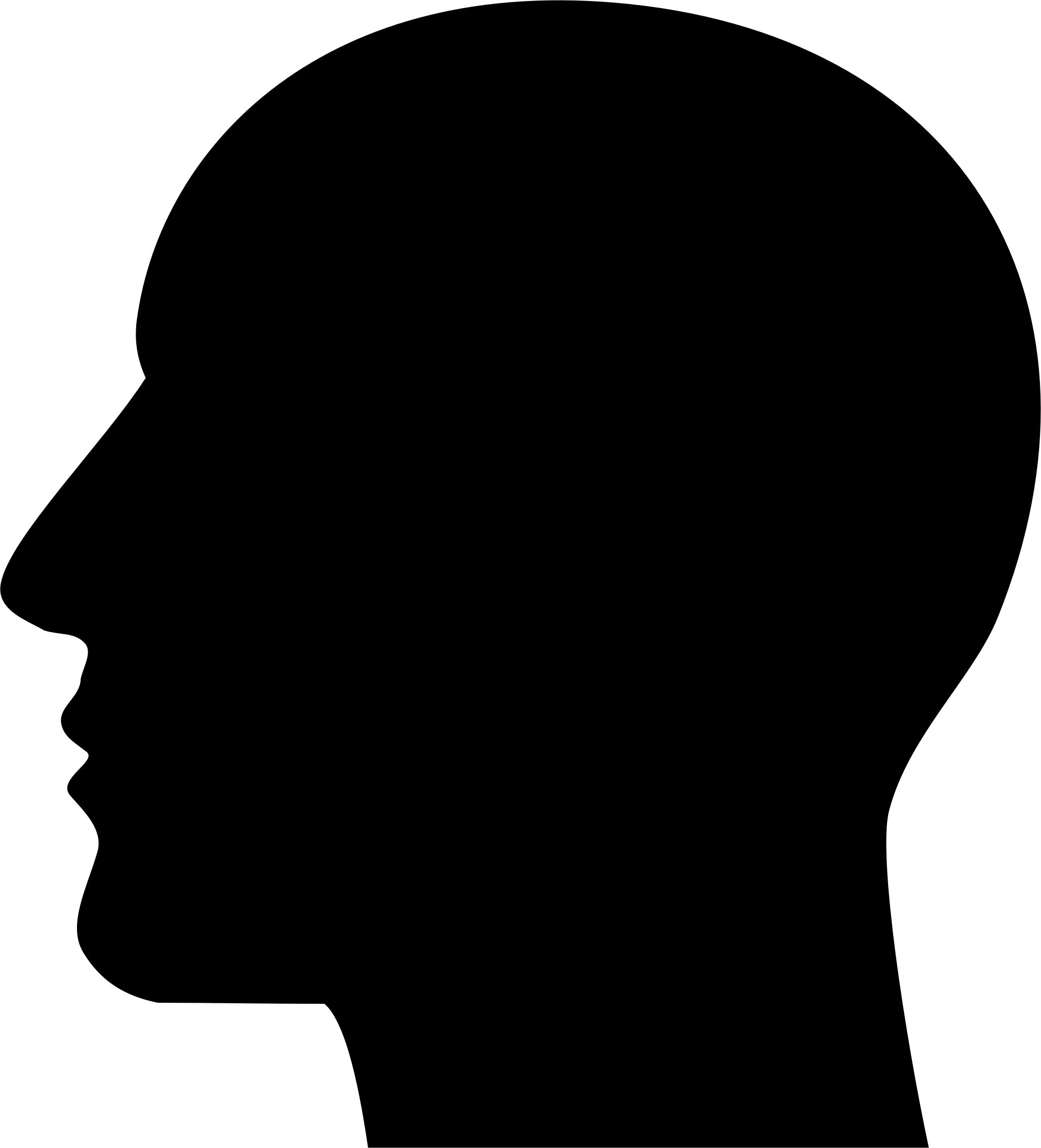 2056x2268 Man Head Silhouette Icons Png