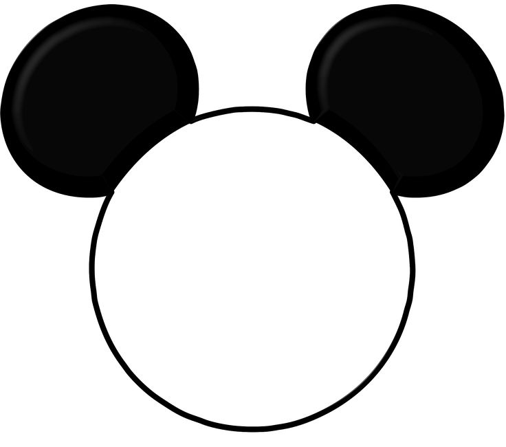 image regarding Mickey Mouse Outline Printable referred to as Brain Silhouette Photographs at  Free of charge for