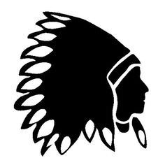 236x236 Indian Head Silhouette Logo