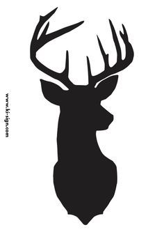236x333 Faux Deer Head Pallet Art Clip Art, Free And Cricut