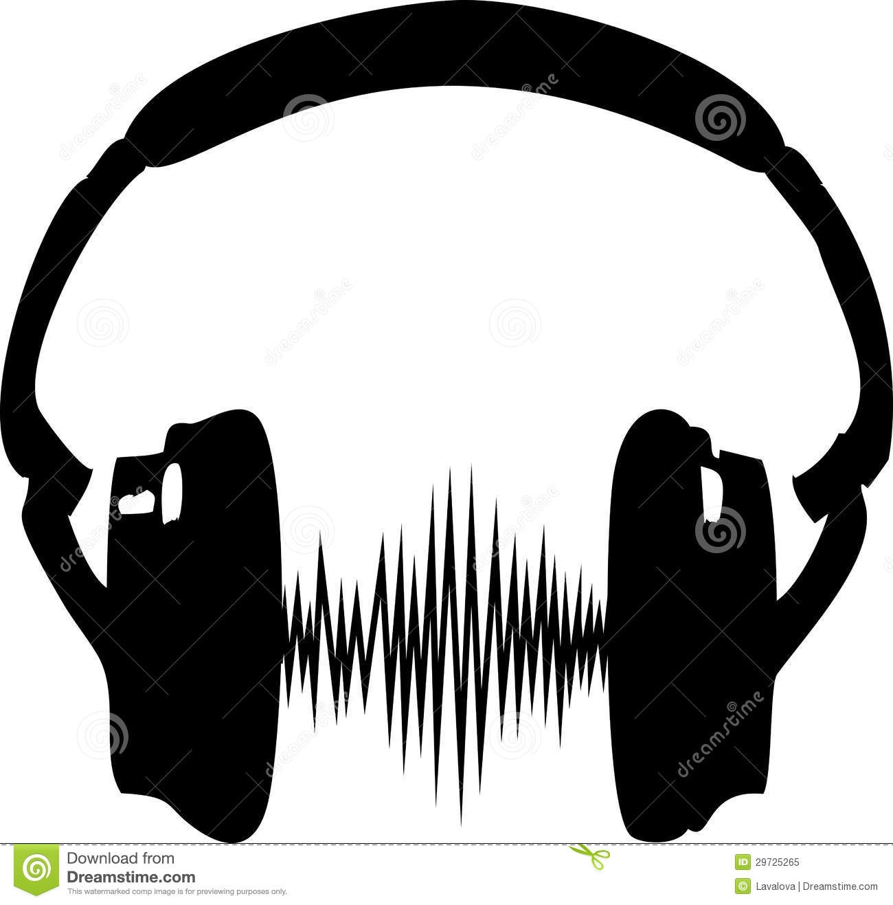 1300x1317 Headphones Clipart Radio Frequency
