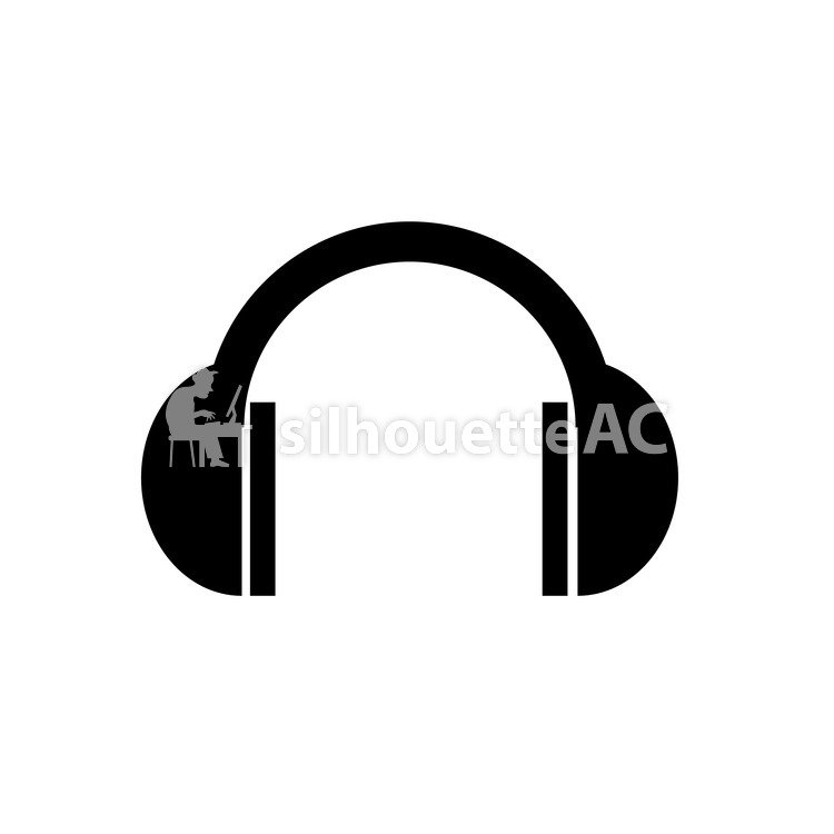 750x750 Free Silhouette Vector Icon, Earmuffs