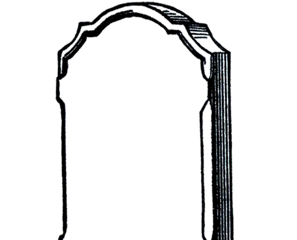 1125x908 Free Vintage Gravestone Clip Art
