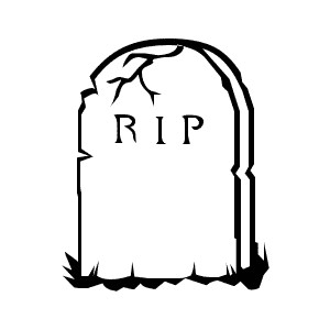 300x300 Headstone clipart gravestone
