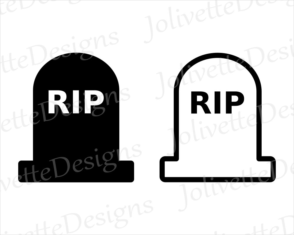 headstone silhouette at getdrawings com free for personal use rh getdrawings com  rip gravestone clipart