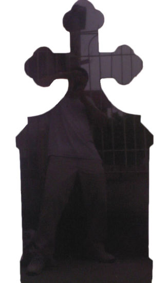 327x550 China New Natural Absolute Blackgalaxy Gravestonemonument