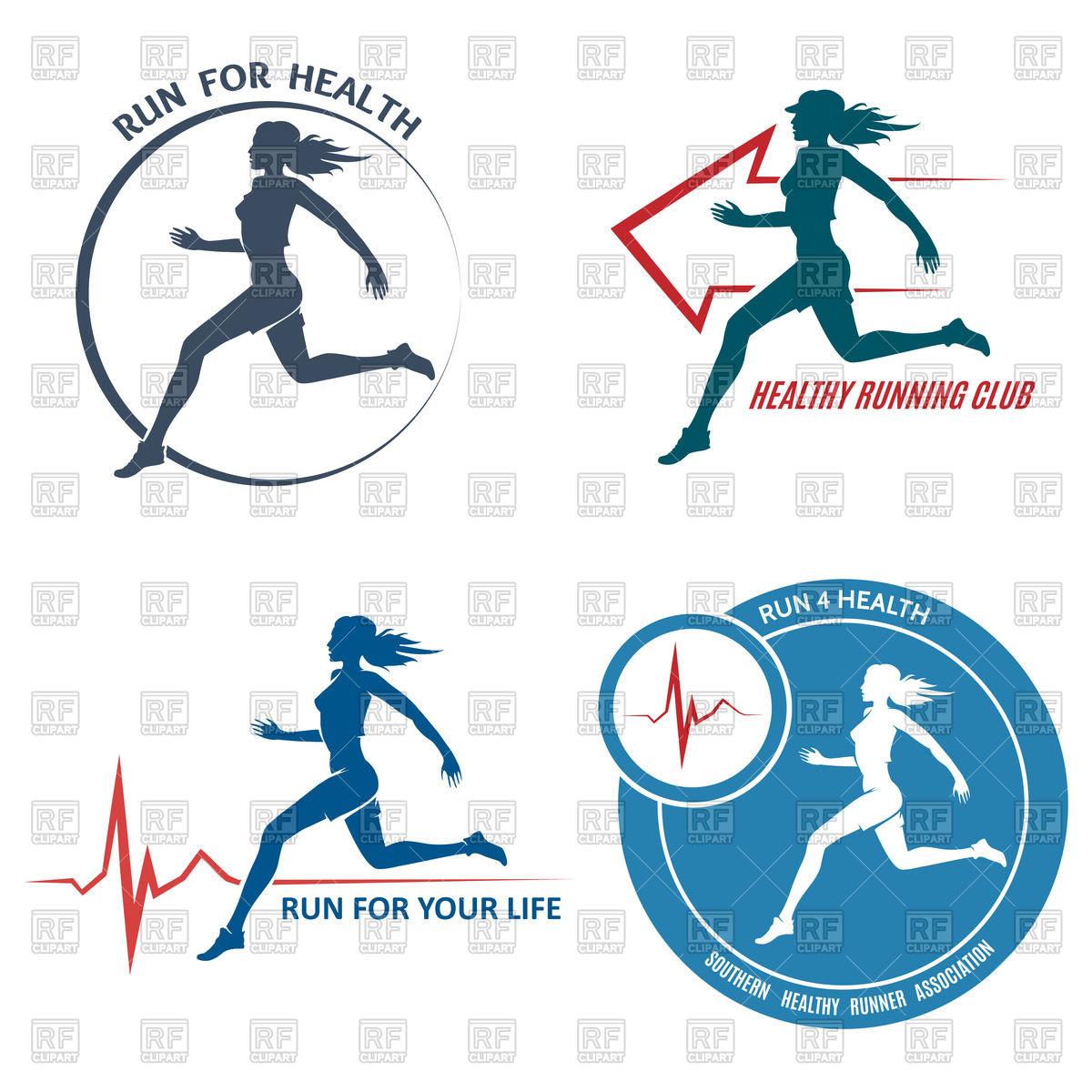 1200x1200 Healthy Run Emblem