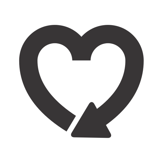 550x550 Heart Shape Icons