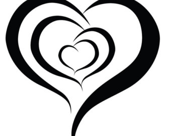 340x270 Fake Heart Tattoo Etsy