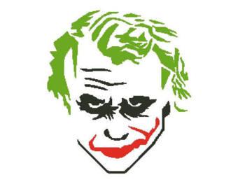 340x270 Joker Cross Stitch Etsy