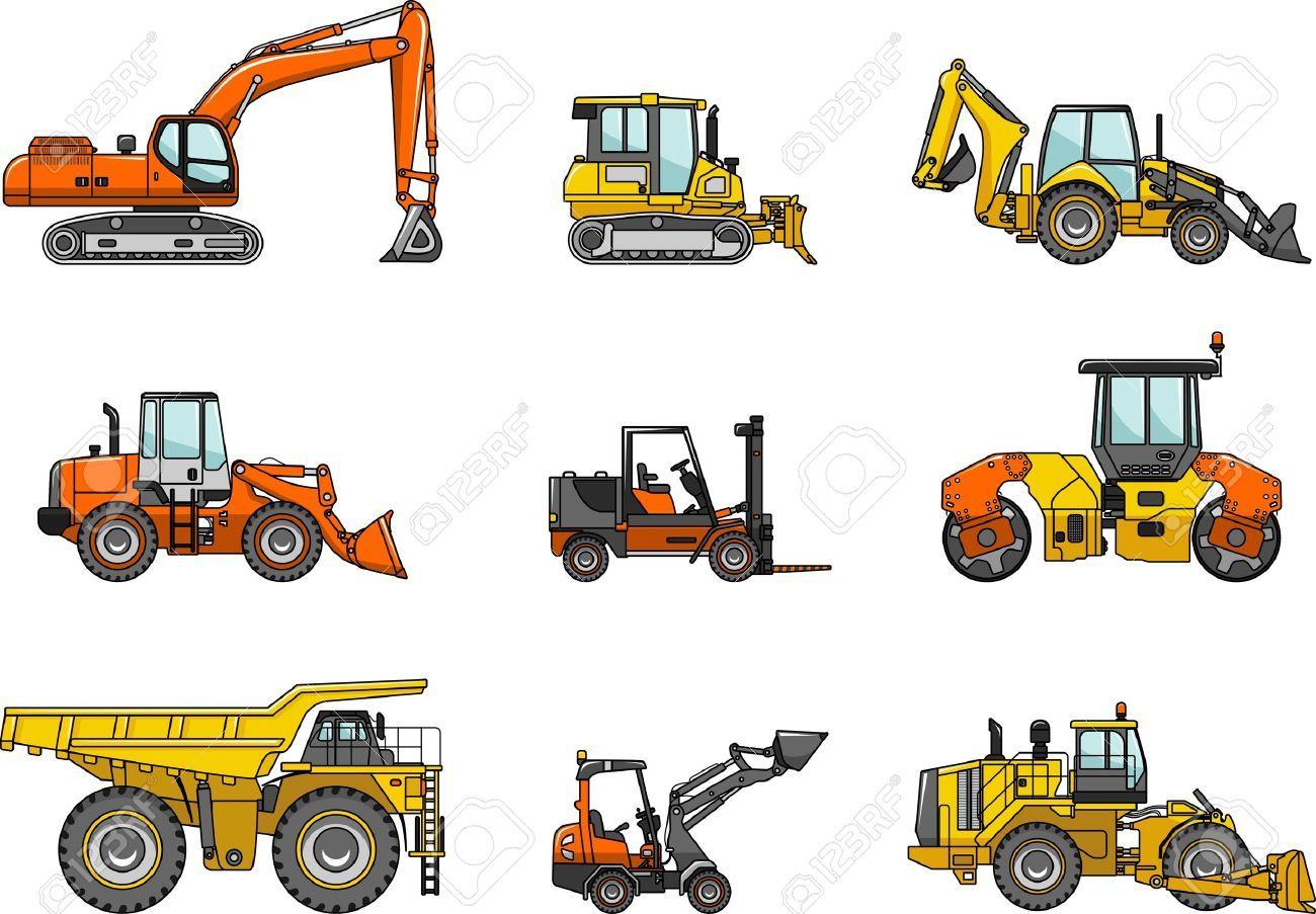 Heavy Equipment Silhouette