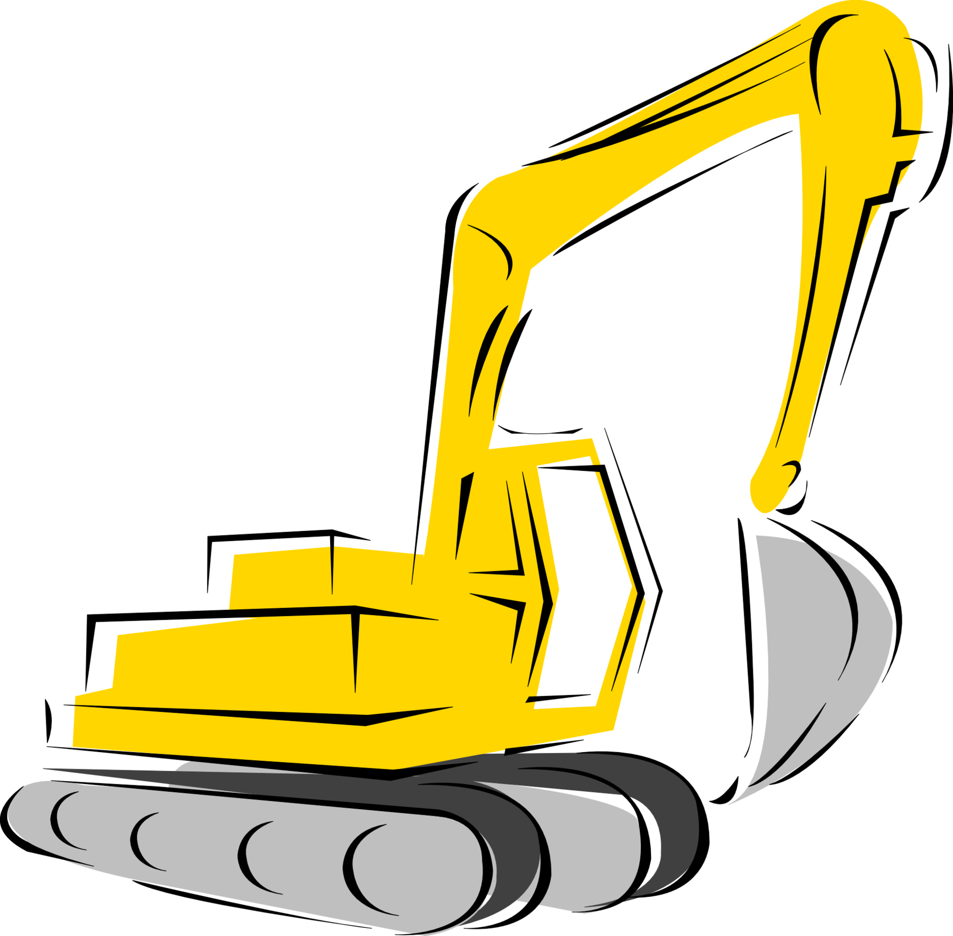 heavy equipment silhouette at getdrawings com free for personal rh getdrawings com heavy construction equipment clipart heavy construction equipment clipart