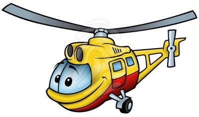 400x236 Clipart Helicopter