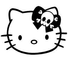 238x212 Skull Hello Kitty Hello Kitty, Gato, Pussy Hello