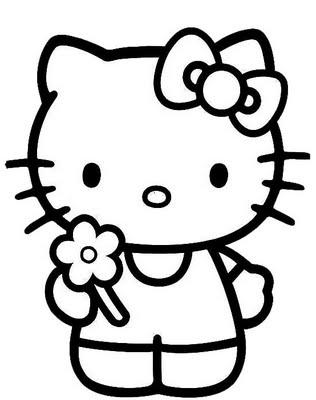 316x400 Hello Kitty Printable Coloring Page. Kids Hello