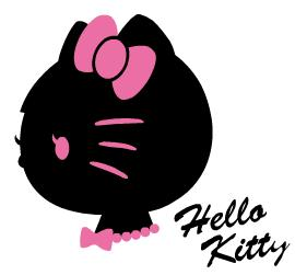 270x251 Hello Kitty's Side View