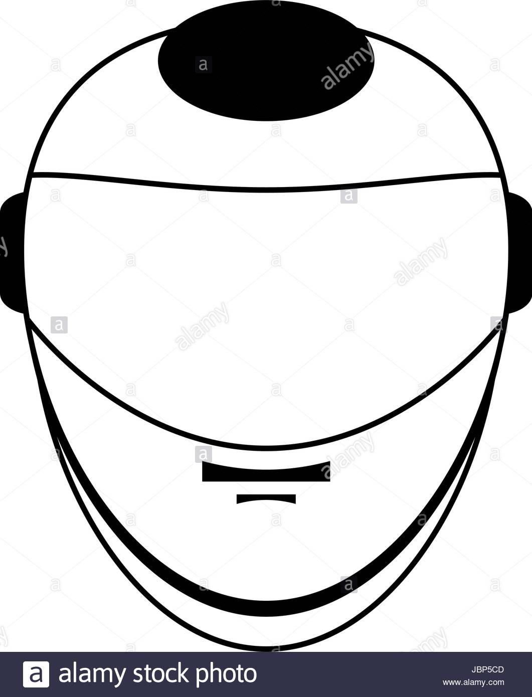 1061x1390 Helmet Silhouette Illustration Stock Vector Art Amp Illustration