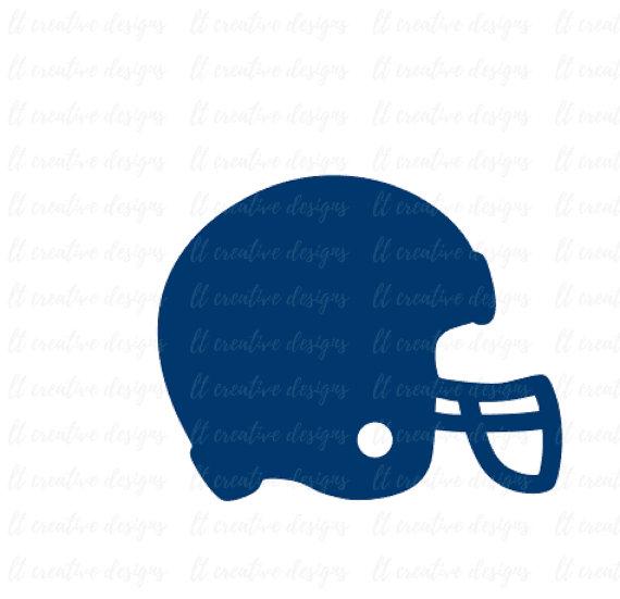 570x551 Football Helmet Svg, Football Svg, Helmet Svg, Football Cut Files