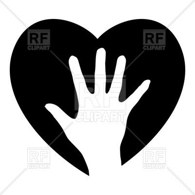 400x400 Helping Hand In The Heart