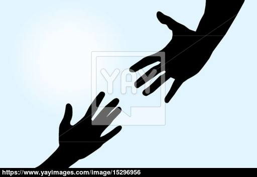 512x353 Helping Hands Vector
