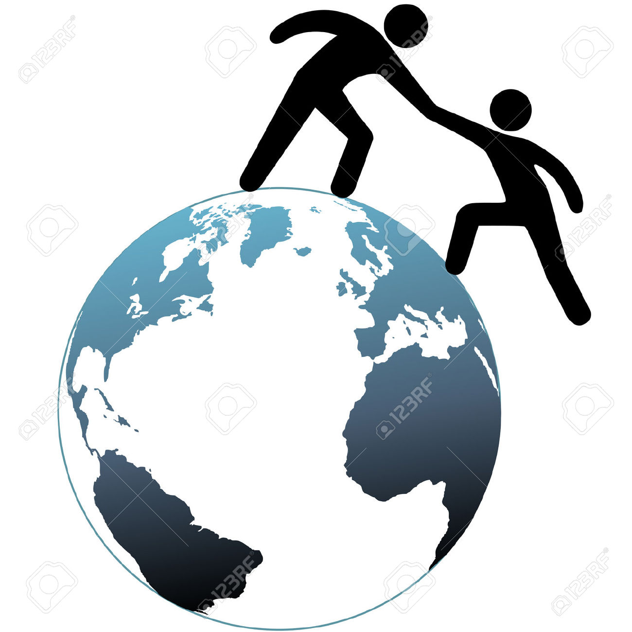 1300x1300 Earth Clipart Helping Hand