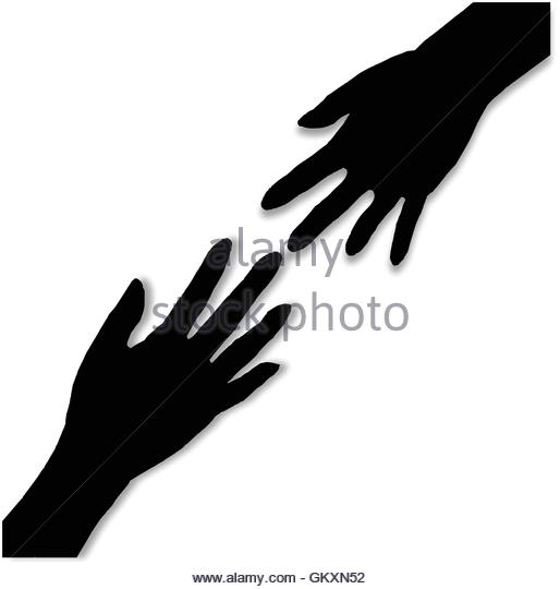 514x540 Hand Reaching Out Help Black And White Stock Photos Amp Images