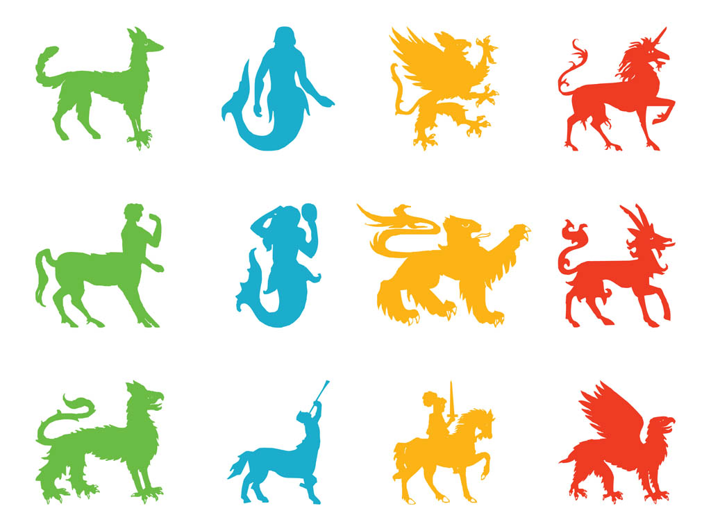 1024x765 Mythological And Heraldic Creatures Vector Art Amp Graphics