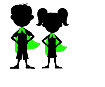 350x292 Super Hero Silhouette By Monkey Business By Mrs M Tpt