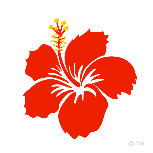 540x540 Free Hibiscus Clip Art Of Silhouette Cartoon Amp Clipart
