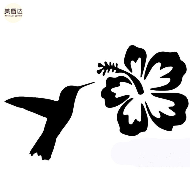 640x640 Pet Nature Hummingbird Hibiscus Flower Animals Insects Lovers Car