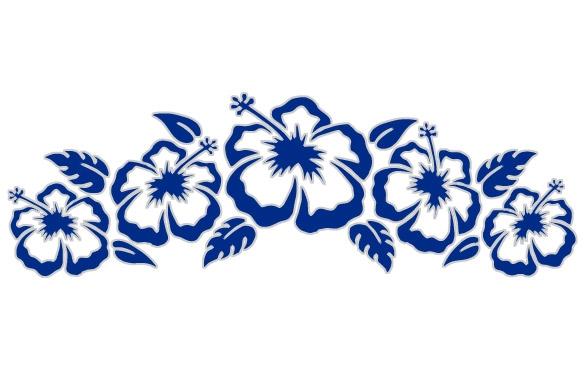 584x368 Surf City Hibiscus Flowers
