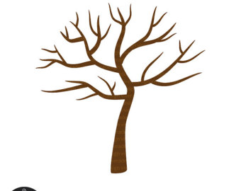 340x270 Smart Design Tree Without Leaves Mickey Mouse Head Silhouette