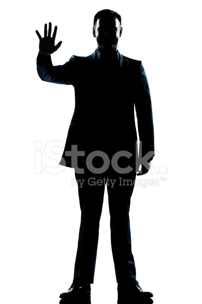 682x1024 Silhouette Man Full Length Saluting High Five Stock Photos