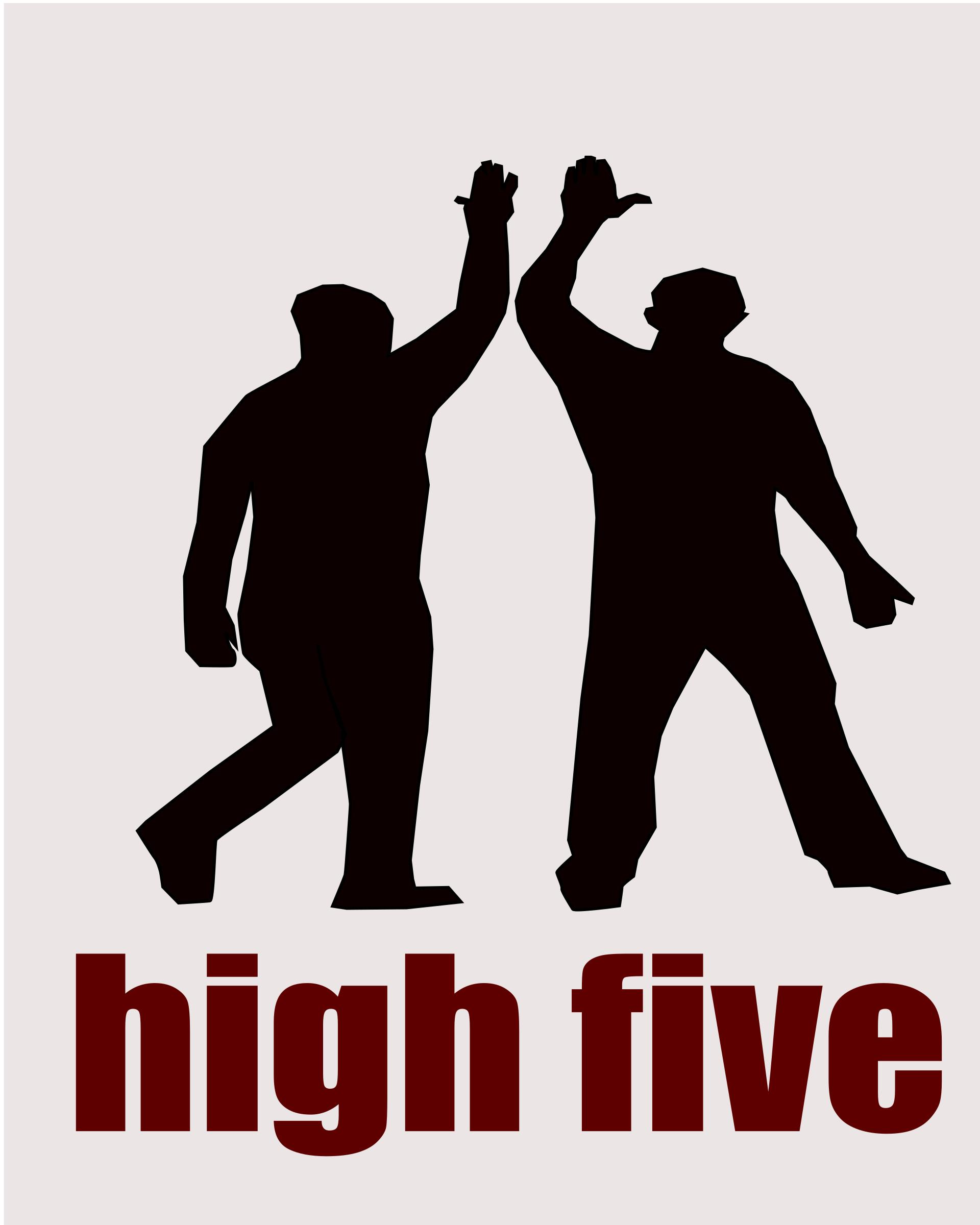 1920x2400 High Five As Hand Gesture Icons Png