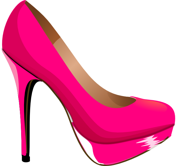 600x565 Best Photos Of Stiletto Heels Clip Art