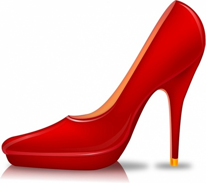 414x368 High Heel Shoe Silhouette Free Vector Download (6,587 Free Vector