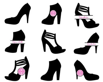 340x270 High Heel Svg Etsy