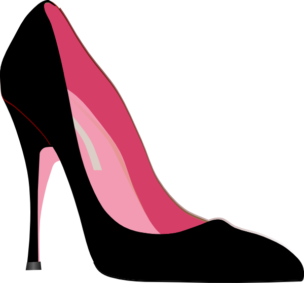 600x559 High Heel Clipart Printables Shoes And Bags High