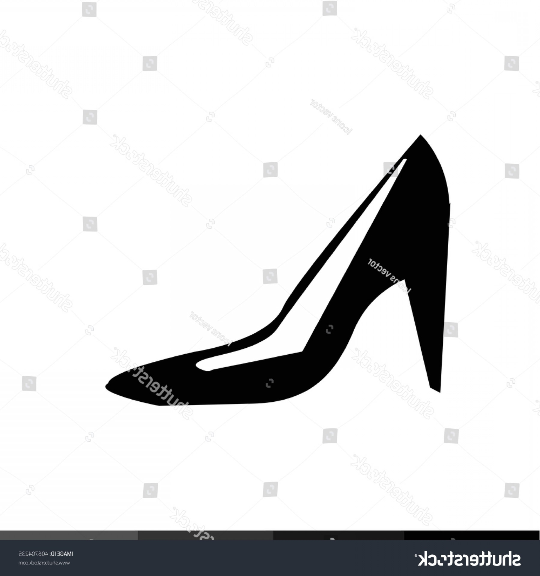 1800x1920 High Heel Shoes Icon Illustration Design Createmepink