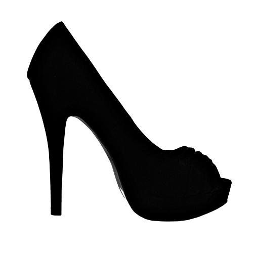 High Heel Shoe Silhouette Clip Art