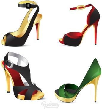 343x368 High Heel Shoe Silhouette Free Vector Download (6,581 Free Vector