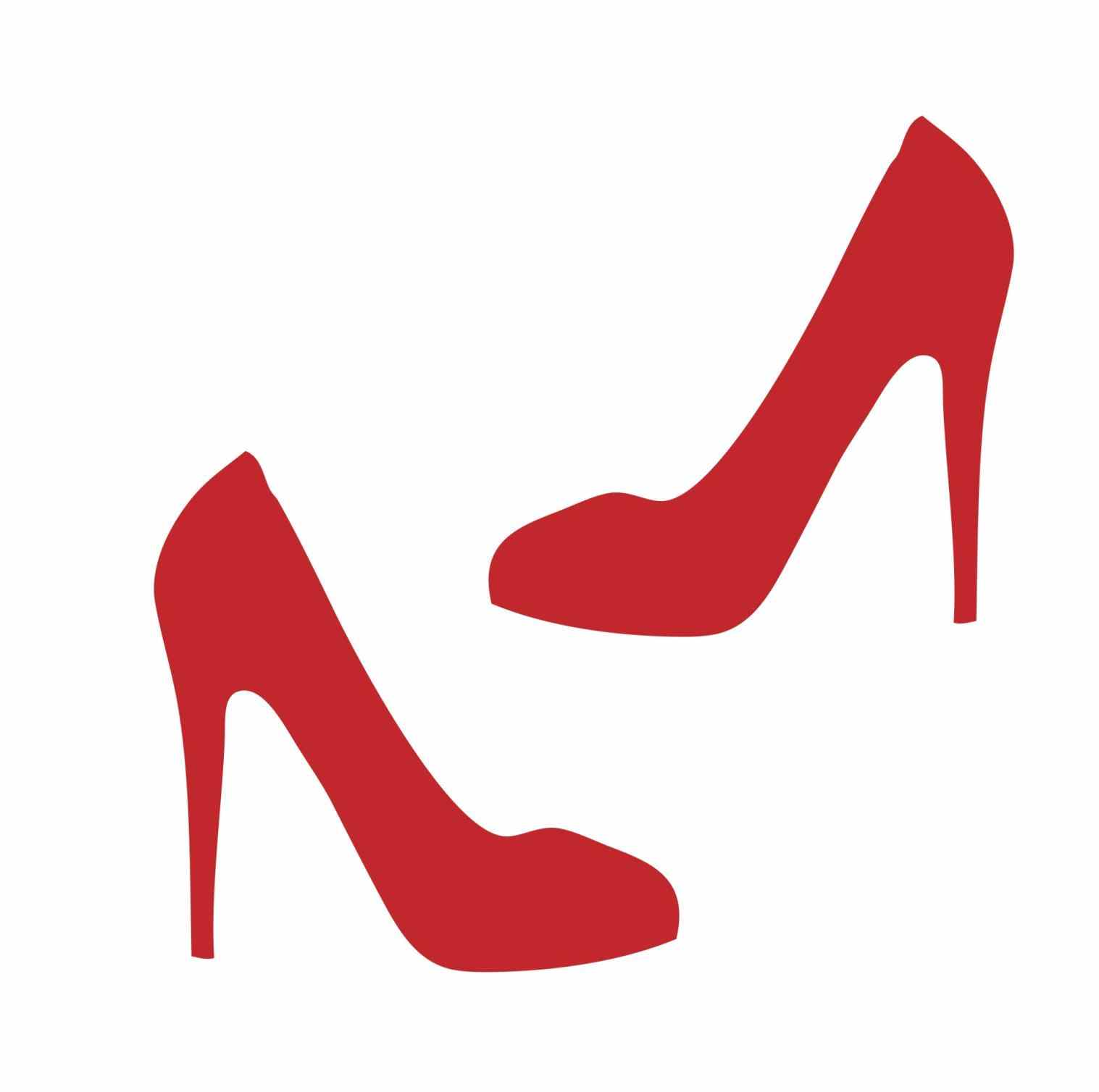 1517x1508 Shoe Icon Simple Illustration Stock Vector Shoe High Heel