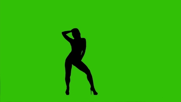 590x332 High Heels Dance On Green Background By Photo Oles Videohive