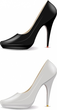 190x368 High Heel Shoe Silhouette Free Vector Download (6,587 Free Vector
