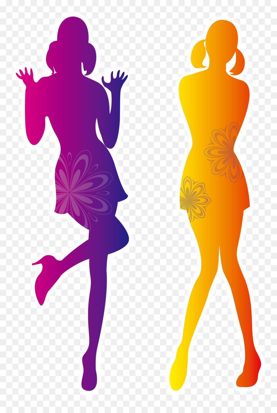 900x1340 Fashion Silhouette Illustration