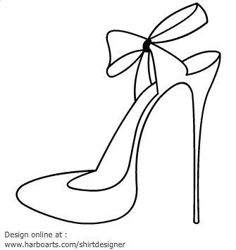 335x355 Heels Clipart Drawn