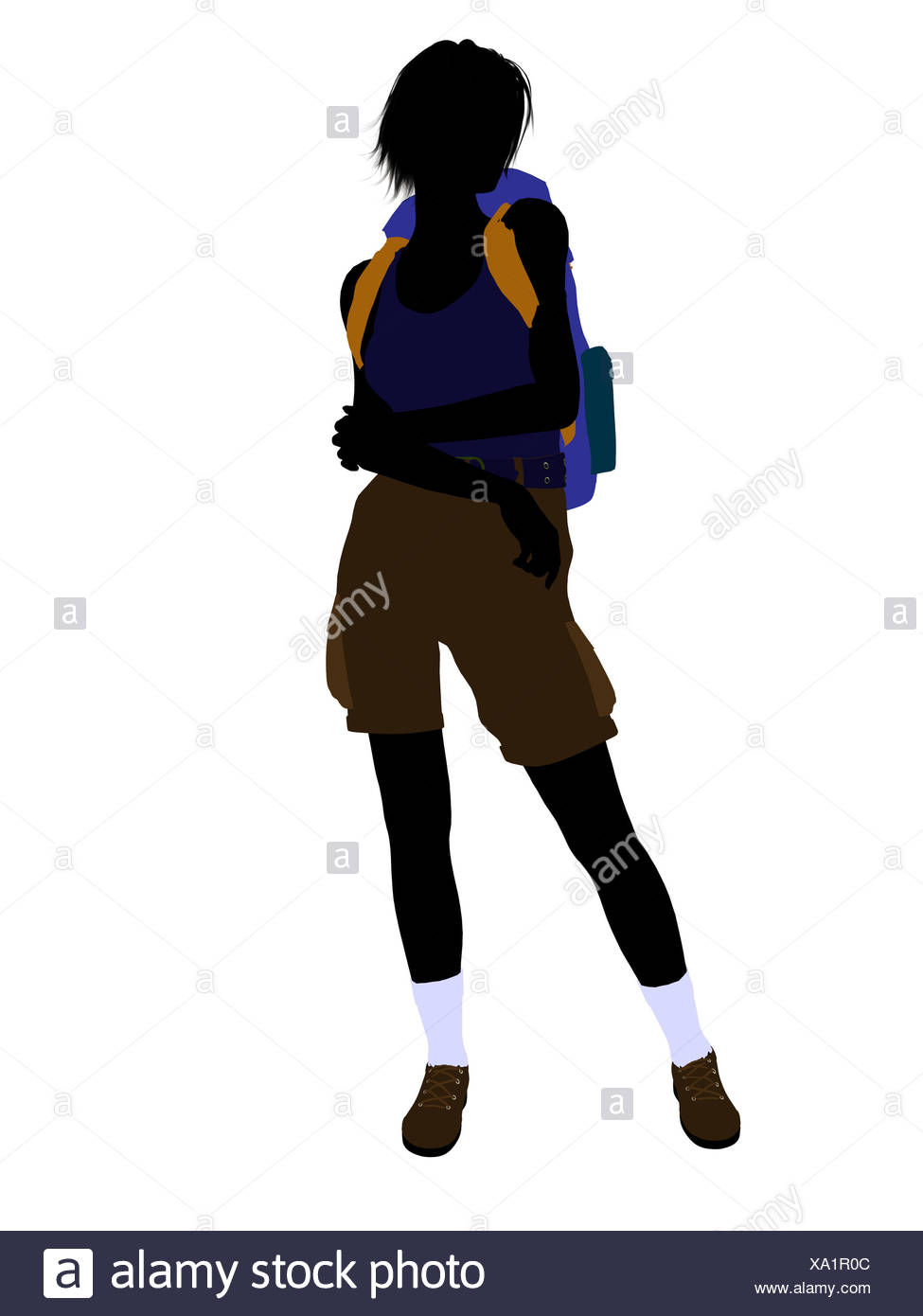 975x1390 Hiker Silhouette Cut Out Stock Images Amp Pictures