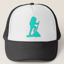 260x260 Hiker Silhouette Hats Zazzle